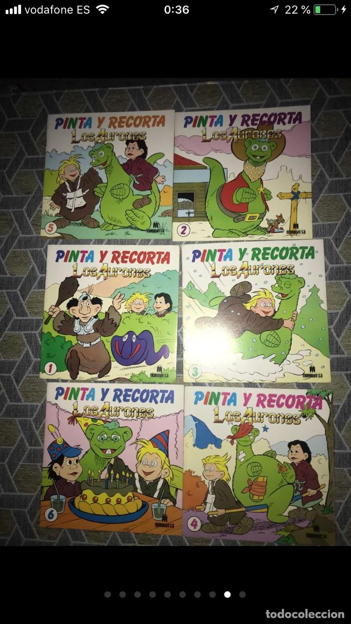 Coleccionismo Papel Varios: Lote de tebeos cómics los Aurones - Foto 8 - 140684288