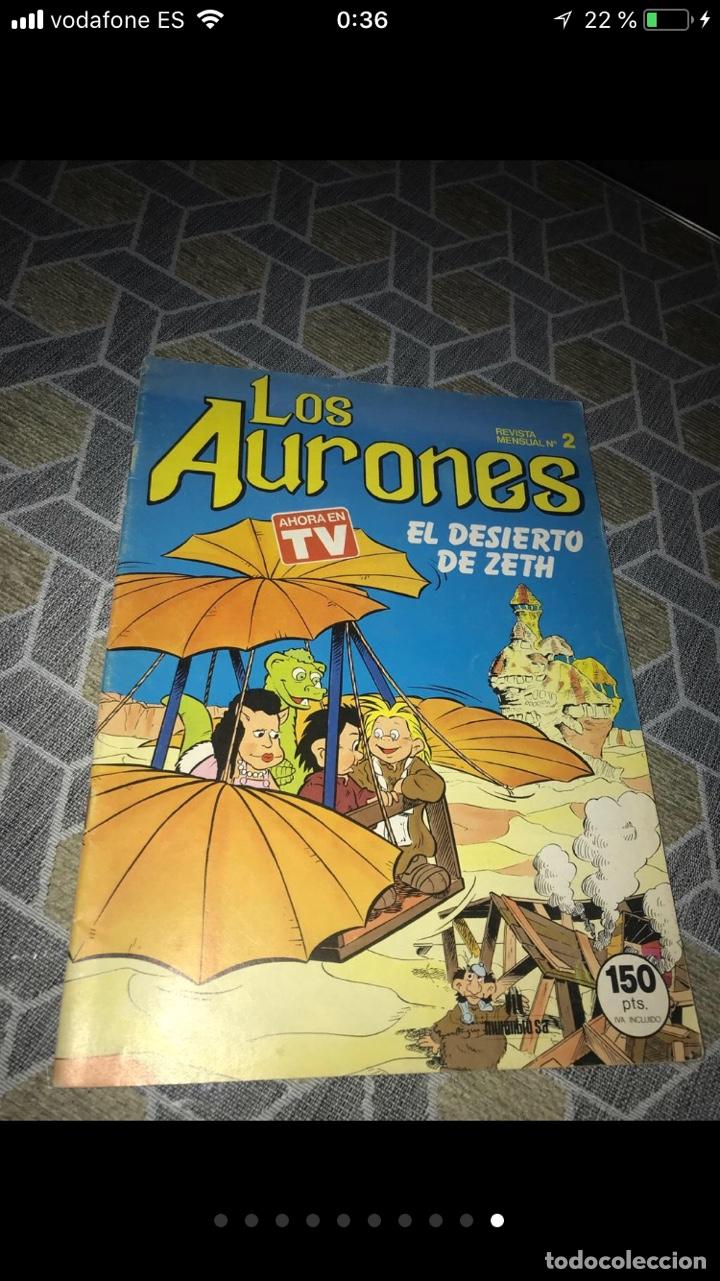 Coleccionismo Papel Varios: Lote de tebeos cómics los Aurones - Foto 9 - 140684288