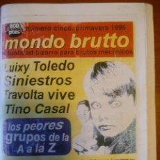 Coleccionismo Papel Varios: FANZINE MONDO BRUTTO 5. REPRODUCCIÓN. . Lote 141109510