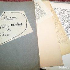 Coleccionismo Papel Varios: PORTAFOLIO Y POEMA FANDANGO DE LAS LECHUZAS--SUEÑO Y MENTIRA DE FRANCO. GUERNICA 1937..PICASSO-REF-D. Lote 179148236