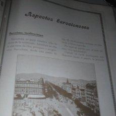 Coleccionismo Papel Varios: BARCELONA MONOGRAFICO 1926 LAS ESCUELAS DE LA CIUDAD COLONIAS ESCOLARES. Lote 141209906
