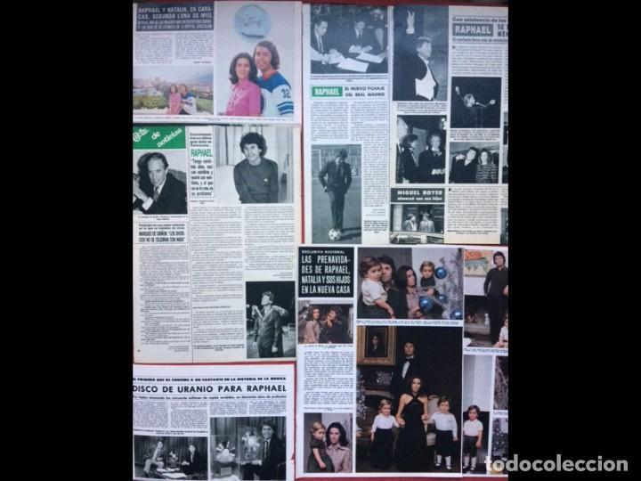 Coleccionismo Papel Varios: RAPHAEL LOTE PRENSA REVISTAS CLIPPINGS RECORTES - Foto 2 - 141457314
