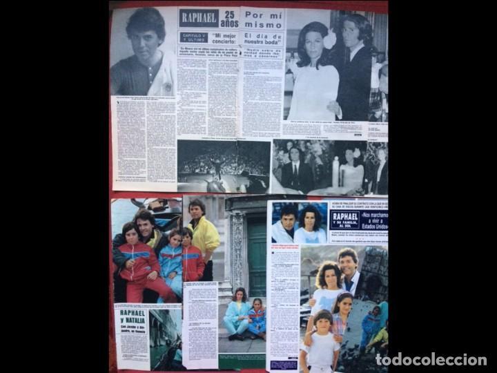 Coleccionismo Papel Varios: RAPHAEL LOTE PRENSA REVISTAS CLIPPINGS RECORTES - Foto 3 - 141457314