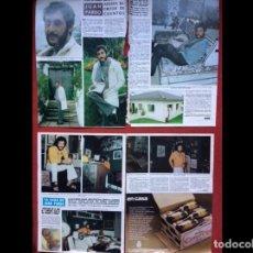 Coleccionismo Papel Varios: JUAN PARDO LOTE PRENSA REVISTAS CLIPPINGS RECORTES. Lote 141457506