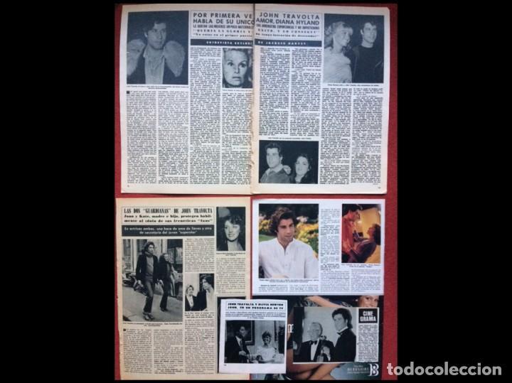 Coleccionismo Papel Varios: JOHN TRAVOLTA RECORTES PRENSA CLIPPINGS REVISTAS - Foto 2 - 141458570