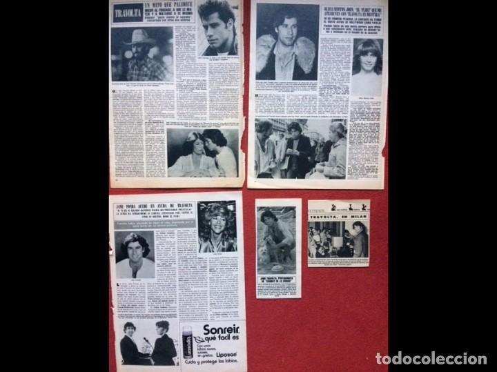 Coleccionismo Papel Varios: JOHN TRAVOLTA RECORTES PRENSA CLIPPINGS REVISTAS - Foto 3 - 141458570