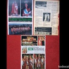 Coleccionismo Papel Varios: LOTE PRENSA MISS ESPAÑA RECORTES REVISTAS CLIPPINGS. Lote 141459118
