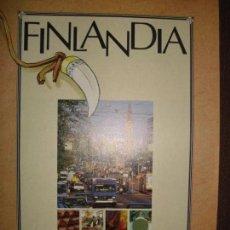Coleccionismo Papel Varios: FOLLETO FINLANDIA, EXPO 92 SEVILLA. Lote 141832778