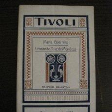 Coleccionismo Papel Varios: PROGRAMA DE TEATRO-TIVOLI-COMPAÑIA DRAMATICA AÑO 1919-CATALUNYA IMPERIAL ANUNCIS-VER FOTOS(V-15425). Lote 142601562