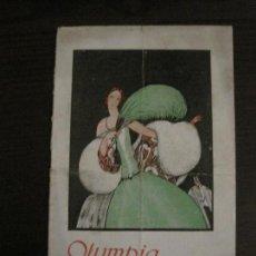 Coleccionismo Papel Varios: PROGRAMA DE OPERA-TEATRO OLYMPIA TEMPORADA OPERA AÑO 1926-BARCELONA-VER FOTOS(V-15.430). Lote 142605446