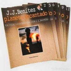 Coleccionismo Papel Varios: BENÍTEZ, JUAN JOSÉ: PLANETA ENCANTADO (FASCÍCULOS DEL 2 AL 12) (PLANETA DEAGOSTINI) (CB). Lote 142837110