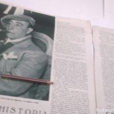 Coleccionismo Papel Varios: REPORTAJE RECORTE PUBLICIDAD AÑO 1934 - EL TORERO RAFAEL EL GALLO DESEMBARCA EN CÁDIZ. Lote 142938814