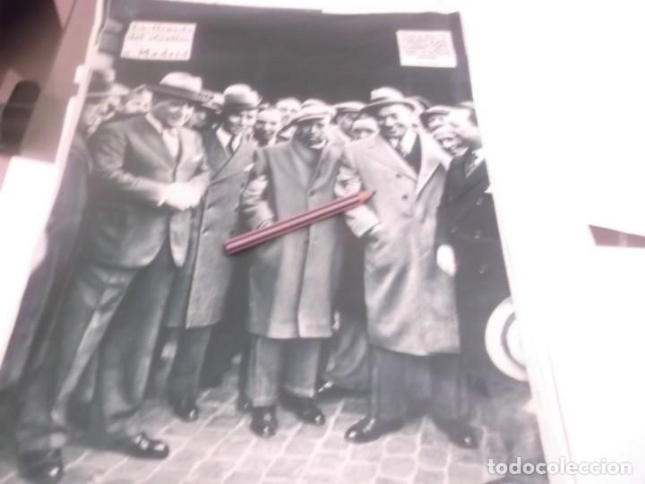 Coleccionismo Papel Varios: REPORTAJE RECORTE PUBLICIDAD AÑO 1934 - EL TORERO RAFAEL EL GALLO DESEMBARCA EN CÁDIZ - Foto 3 - 142938814