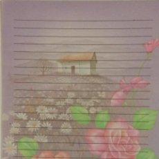 Coleccionismo Papel Varios: CARTAS PERFUMADAS - HOJA - FLORES CASITA MORADA SHINN JEE 361. Lote 143108978
