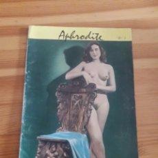 Coleccionismo Papel Varios: REVISTA MODELOS EROTICA DINAMARCA APHRODITE SANGKO-NORDEN COPENHAGEN AÑOS 40 50 PINUP. Lote 143393784
