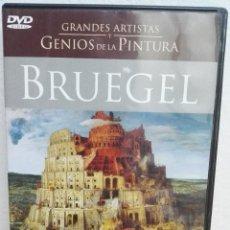 Coleccionismo Papel Varios: DVD DE ARTE Y PINTURA DE BRUEGEL, PLANETA AGOSTINI. Lote 195247607