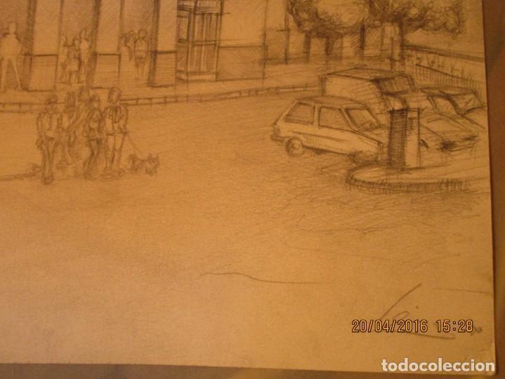 Coleccionismo Papel Varios: ANTIGUOS DIBUJOS ORIGINALES BOCETOS ESTACION FFCC ELECTRICOS DE VALENCIA FIRMADO - Foto 9 - 143577602