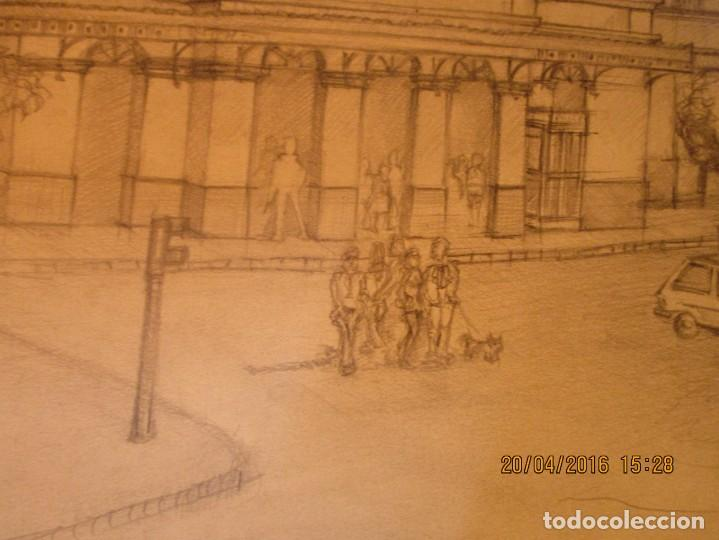 Coleccionismo Papel Varios: ANTIGUOS DIBUJOS ORIGINALES BOCETOS ESTACION FFCC ELECTRICOS DE VALENCIA FIRMADO - Foto 10 - 143577602