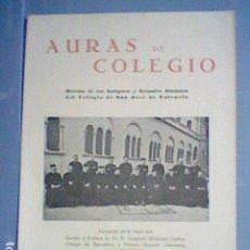 Coleccionismo Papel Varios: COLEGIO SAN JOSE VALENCIA REVISTA AURAS DE COLEGIO Nº 32 FEBRERO 1944. Lote 143883202