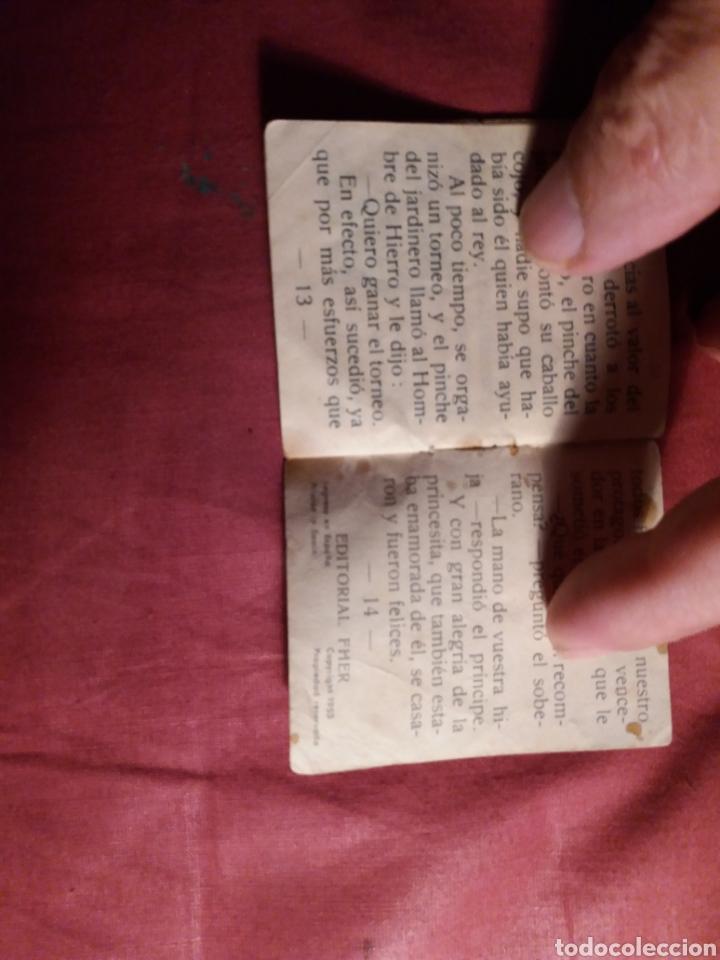 Coleccionismo Papel Varios: Cuento miniatura Editorial Fher 1953 - Foto 3 - 143908642