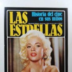 Collectionnisme Papier divers: Nº 28 - EL CINE EN SUS MITOS - SOLO LA PORTADA, RESEÑA Y CONTRAPORTADA: JAYNE MANSFIELD/ERROL FLYNN. Lote 143931662