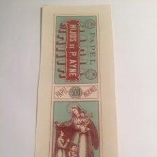 Coleccionismo Papel Varios: LIBRITO DE PAPEL DE FUMAR MARIA ALCOY. Lote 144020493