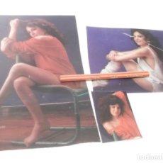 Coleccionismo Papel Varios: RECORTES PUBLICIDAD AÑOS 80/90 - LA ARTISTA ESPAÑOLA ANA GARCIA OBREGON . Lote 144180098