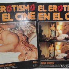Coleccionismo Papel Varios: EL EROTISMO EN EL CINE- 1983. 2 ITEMS. Lote 144540218