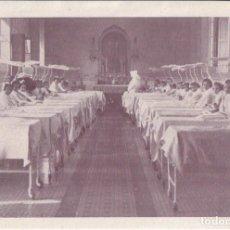 Coleccionismo Papel Varios: FELICITACION DE LA SUPERIORA - COMUNIDAD Y NIÑAS ENFERMITAS DEL HOSPITAL ASILO DE SAN RAFAEL . Lote 144667834
