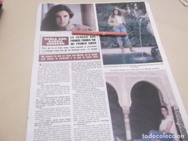 RECORTE PUBLICIDAD AÑOS 80/90 - ANA GARCIA OBREGÓN (Coleccionismo en Papel - Varios)