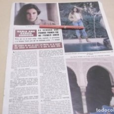 Coleccionismo Papel Varios: RECORTE PUBLICIDAD AÑOS 80/90 - ANA GARCIA OBREGÓN. Lote 144754118