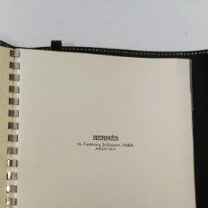 Coleccionismo Papel Varios: HERMÉS DIRECTORIO TELEFONICO EN PIEL . Lote 145692538