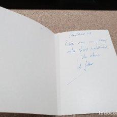 Coleccionismo Papel Varios: ANTIGUA FELICITACION NAVIDEÑA...ANTONIO SOLANA...1978... Lote 145806706