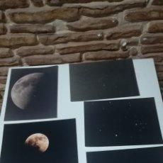 Coleccionismo Papel Varios: LOTE DE 6 FOTOGRAFIAS ASTRONOMICAS 24 CM X 18 CM PAPEL FOTOGRÁFICO KODAK. Lote 145871168