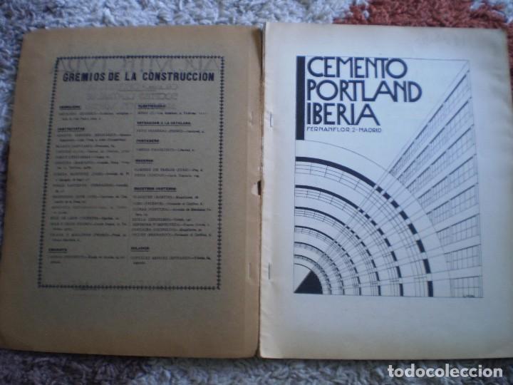 Coleccionismo Papel Varios: REVISTA ANTIGUA ARQUITECTURA. MADRID. AÑO 1928. NUMERO 107. - Foto 2 - 146077494