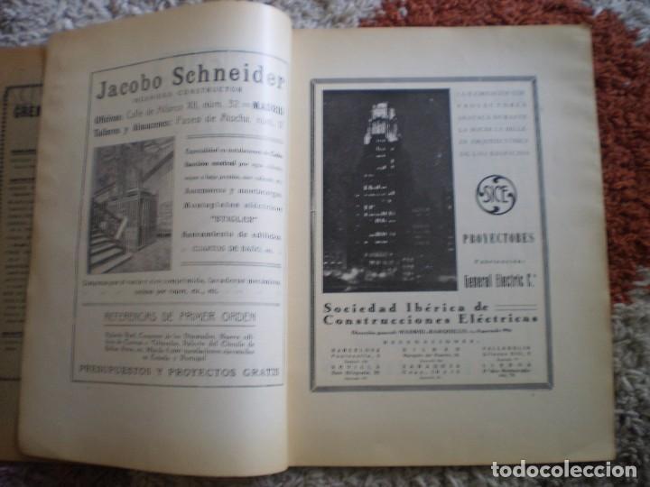 Coleccionismo Papel Varios: REVISTA ANTIGUA ARQUITECTURA. MADRID. AÑO 1928. NUMERO 107. - Foto 3 - 146077494