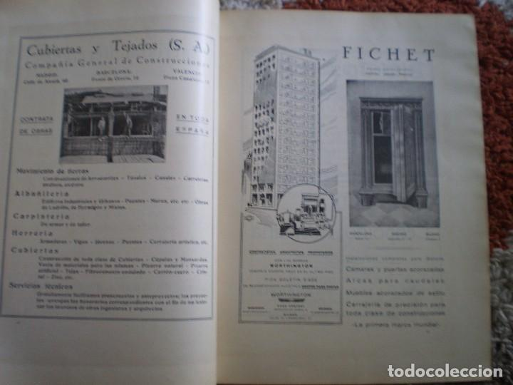 Coleccionismo Papel Varios: REVISTA ANTIGUA ARQUITECTURA. MADRID. AÑO 1928. NUMERO 107. - Foto 4 - 146077494