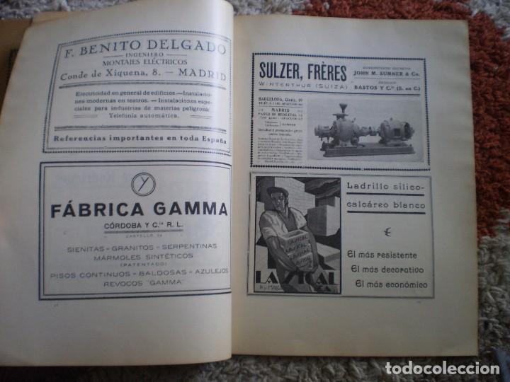 Coleccionismo Papel Varios: REVISTA ANTIGUA ARQUITECTURA. MADRID. AÑO 1928. NUMERO 107. - Foto 5 - 146077494