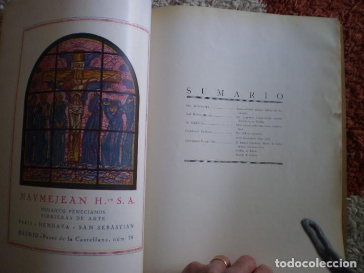 Coleccionismo Papel Varios: REVISTA ANTIGUA ARQUITECTURA. MADRID. AÑO 1928. NUMERO 107. - Foto 8 - 146077494