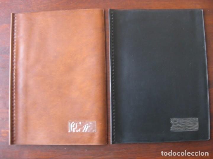 Coleccionismo Papel Varios: Dosier con 20 fundas portafolios para coleccionismo de tebeos, recordatorios, programas, etc - Foto 2 - 146205126