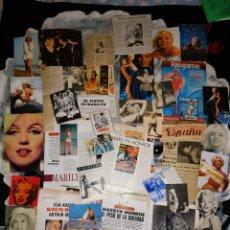Coleccionismo Papel Varios - Lote 2 Clipins Articulos y fotos sueltas Marilyn Monroe - 146250122