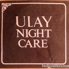 Coleccionismo Papel Varios: TRIPTICO PUBLICITARIO ULAY NIGHT CARE DE OIL OF ULAY AÑOS 60-70. Lote 146408142