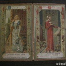 Coleccionismo Papel Varios: CARTERITA LIEBIG-DANTE ALIGHIERI & BEATRICE-AÑO 1887-COMPAGNIA LIEBIG-VER FOTOS-(V-15.790). Lote 146574062