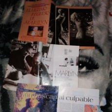 Coleccionismo Papel Varios: LOTE 7 CLIPINS MARILYN MONROE. Lote 147023594