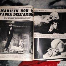 Coleccionismo Papel Varios: MAGAZINE VUSTO MARILYN MONROE REPORTAJE. Lote 147205028