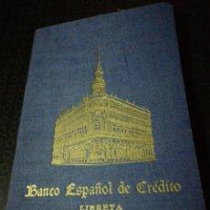 Coleccionismo Papel Varios: LIBRETA CAJA DE AHORROS BANCO ESPAÑOL DE CRÉDITO. Lote 147244420
