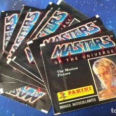 Coleccionismo Papel Varios: 10 SOBRES VACIOS MASTERS UNIVERSE PANINI 1987. Lote 147307106