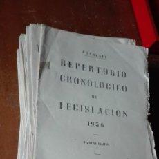 Coleccionismo Papel Varios: LOTE DE LA LEGISLACIÓN ARANZADI 1956 1957 1961 1962. Lote 147309526