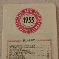 Coleccionismo Papel Varios: CURIOSO CUADERNILLO SOLICITUD BAILE 1955. Lote 147523073