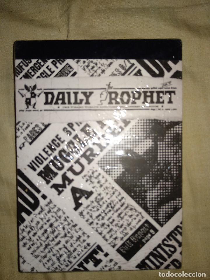 HARRY POTTER CUADERNO NUEVO RETRACTILADO DAILY ROPHET (Coleccionismo en Papel - Varios)